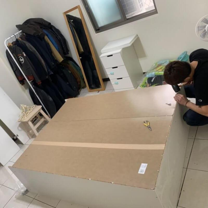 台北搬家 – 系統家具和一般家具組裝服務
