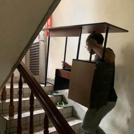 新北搬家 – 新莊搬家 無電梯公寓搬家紀錄