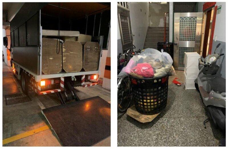 台北家庭搬家 - 萬華到中山區的搬家紀錄