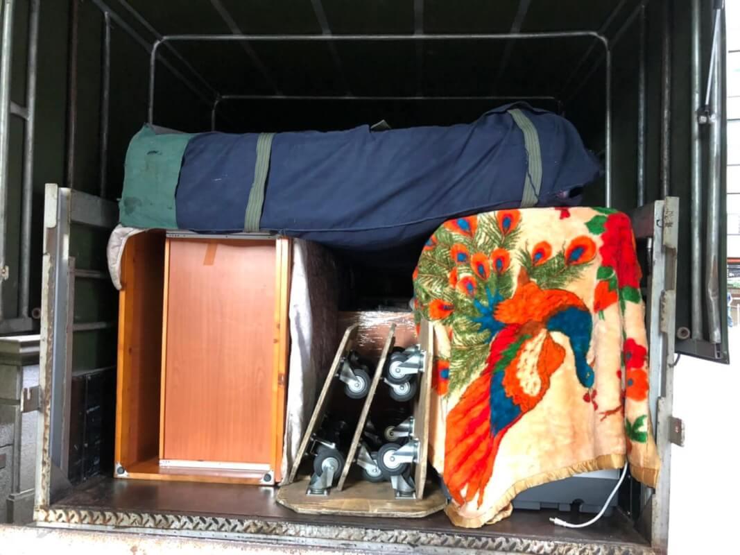 新北搬家 - 板橋小家庭搬家紀錄
