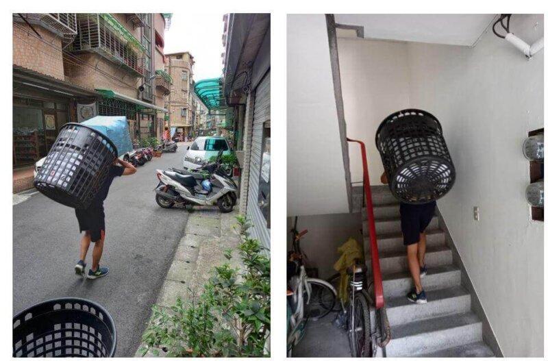 台北搬家 - 小家庭無電梯搬家紀錄