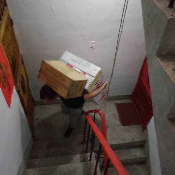 新北搬家 – 中和電梯搬台北公寓紀錄